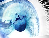 Alcon / Novartis - Eye Care (Christmas e-card)