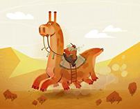 Western sci-fi character design