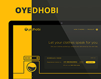 Oyedhobi - Webpage & Branding