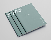 慢慢BISTRO - 菜單設計、攝影 Menu Design & Photography
