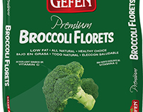 Design of packaging for frozen vegetables and fruits