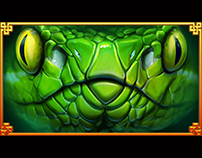 serpent Tempter stacked wild animation.
