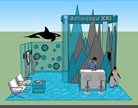 Antarctica Exhibition Booth
