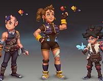 Fantasy adventurers