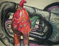 Rooster Tuba