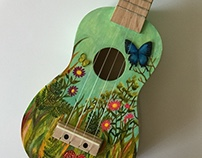 Painted on a Ukulele
