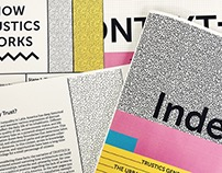 Trustics Graphics and Exhibition Catalogue