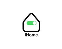 Smart Home Logo Concept
