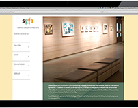 Web Design: Sawhill Gallery of Fine Arts