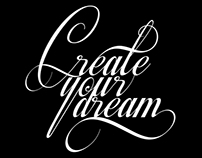 Create your dream typography