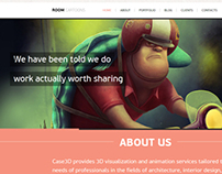 Room Cartoons - Responsive and Clean Theme