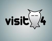 Visit4 logo
