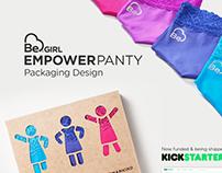 Packaging - Be Girl EmpowerPanty
