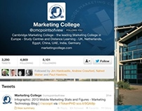 Cambridge Marketing College twitter project