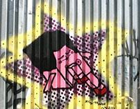 Character Design & Illustration Street Art Naked Girl