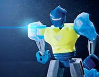 Vertex - 3D printed action figure