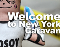 Character Design & Toy Design Caravan For Peace NY