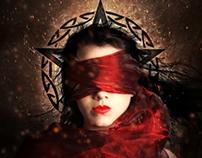 Mystery blind girl