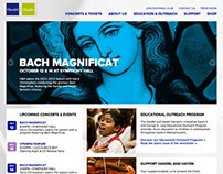 Handel and Haydn Society Website