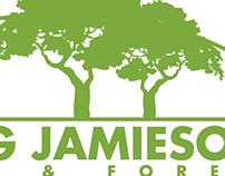Wilson G. Jamieson: Fencing & Forestry Logo