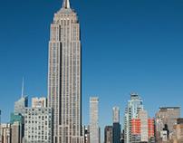 Empire State Building ... Fotos von oben