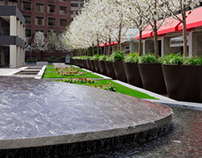 Landscape Architectural Photography - San Jose Plaza