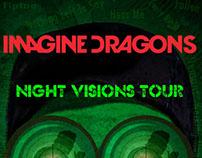 Imagine Dragons Concert Poster
