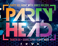 Party Head Flyer