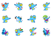 ZALO sticker/ animated emoticon