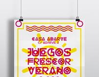 Poster Juegos al Frescor del Verano 2013