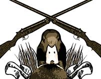 Duck Hunting Club Logo