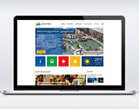 Szigetköz Portal Website redesign