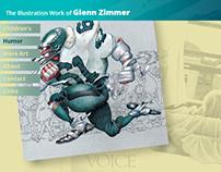 Glenn Zimmer Artist Website