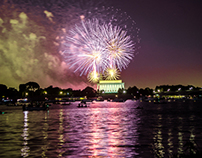 DC Fireworks on the Potomac