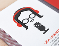 Lisa's Business Cards // Graphic Design