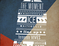 The Moment / Party Flyers