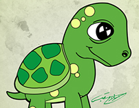 My lovely turtle ( سيّدة )