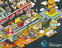 Silverlight 3 poster (XPLANE)