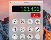 Daily UI - #004- Calculator
