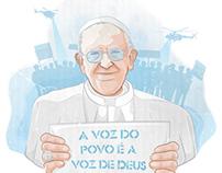 A voz do povo é a voz de Deus ® Vector Art