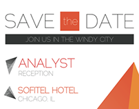 Analyst Reception Save the Date