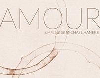 Amour - Cartaz de cinema sem iconografia