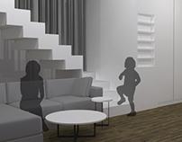 mieszkanie dwupoziomowe/ two-storeyed flat