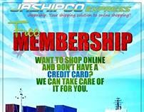 JaShipco Express Mambership