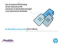 Mondeléz & HP