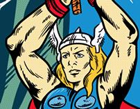 Asgard Tales - Score on Threadless