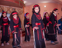 Primary school festivities in Gaza-City