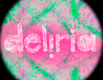 Deliria Party · Image, graphic and visual communication