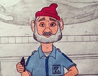 """Does this seem fake?""- Steve Zissou"