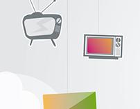 Infografia de Evolución de la TV